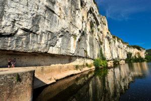 L Ostal de Benjamin Balade sur le chemin de halage de Ganil à Bouziès